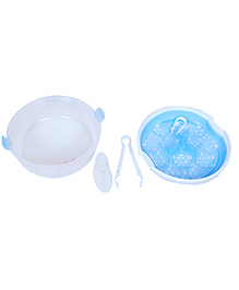 Morisons Baby Dreams Microwave Sterilizer - Blue & White