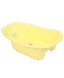 Babyhug Baby Bath Tub Animal Print - Yellow