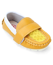 Doink Slip-On Style Loafer Shoes - Yellow