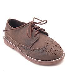 Doink Party Wear Shoes - Light Brown