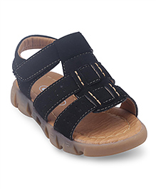 Doink Sandals With Velcro Closure - Black