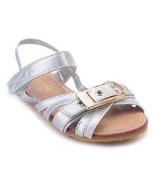Doink Sandals Buckle Design - Silver