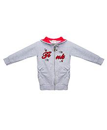 Eimoie Adorable Hooded Jacket - Grey