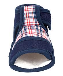 Beebop Velcro Booties - Navy Blue