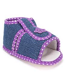Beebop Velcro Booties - Lavender
