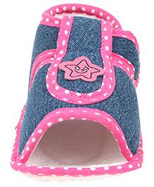 Beebop Velcro Booties - Pink