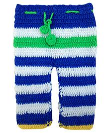 MayRa Knits Knitted Pants - Blue