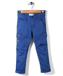 Blue Camp Multi Pocket Pant - Blue