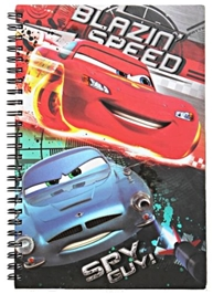 Disney Cars Top Speed Spiral Note Book