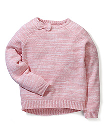 Mothercare Full Sleeves Knitted Jumper - Pink