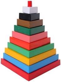 Little Genius - Tower Wooden  Triangle