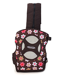 Colorland 4 Way Baby Carrier Floral - Brown