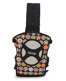 Colorland 4 Way Baby Carrier Cheeky Chimp - Brown
