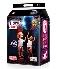 Libero Pant Style Diapers Small - 48 Pieces