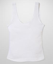 Bodycare Sleeveless Thermal Vest - Off White