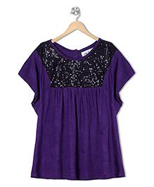 Soul Fairy Sequins Tee  - Purple