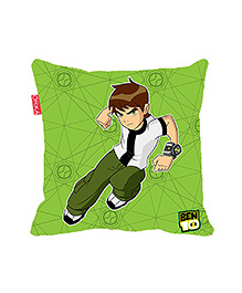 Orka Ben 10 Digital Printed Square Cushion Filled With Micro Beads