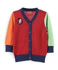 Lilliput Kids Full Sleeves Cardigan - Multi Color