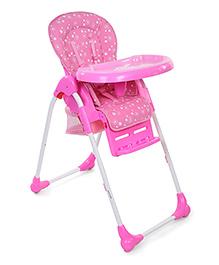 Babyhug Easy Diner High Chair - Pink