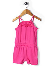 Mothercare Singlet Ruffle Jumpsuit - Pink