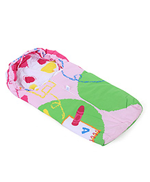 Montaly Baby Sleeping Bag Mouse Print - Pink & Multicolor