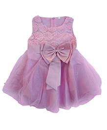 Kuddle Kids Rosette Dress - Pink