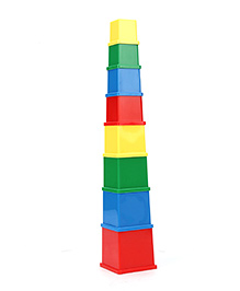 Anindita Toys Stacking Cubes - 8 Pieces