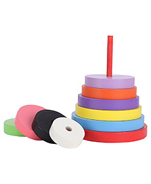 Anindita Toys Stacking Circles Towers - 9 Pieces