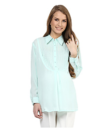 Mamacouture Maternity Shirt - Mint Green