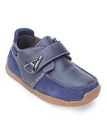 Cute Walk Party Loafer Shoes - Dark Blue