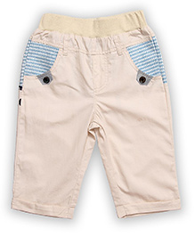 Lilliput Kids Solid Color Capri - Cream