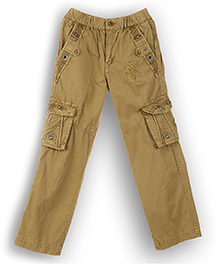 Lilliput Kids Full Length Cargo Pants - Khaki