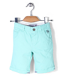 Mothercare Twill Knee Length Shorts - Green