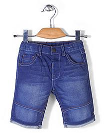 Mothercare Denim Shorts - Dark Blue