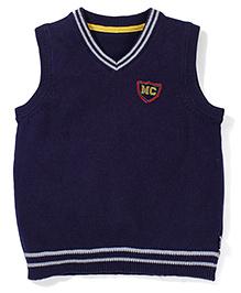 Mothercare Sleeveless Sweater - Navy Blue