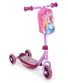 Disney Princess 3 Wheel Scooter - Purple
