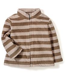 Mothercare Full Sleeves Jacket - Brown