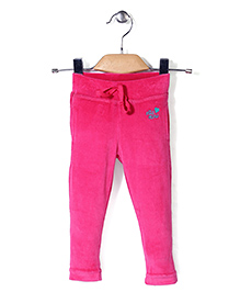 Vitamins Track Pant With Embroidery - Pink