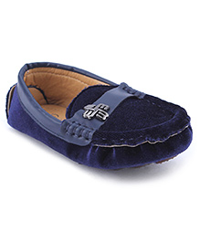 Cute Walk Party Loafer Shoes - Blue