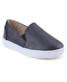 Cute Walk Casual Slip-On Shoes - Black