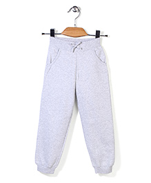 Mothercare Cuffed Track Pant - Light Grey