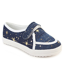 Cute Walk Party Loafer Shoes - Navy