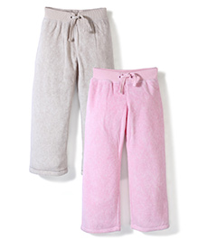 Mothercare Jogger Pack Of 2 - Pink & Cream