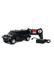 Flyers Bay Hummer SUV Remote Control Die Cast Car Toy - Black