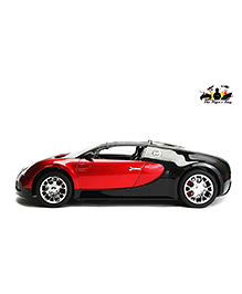The Flyer's Bay Bugatti Veyron Full Function Rechargeable Remote Controlled Car - Red And Black