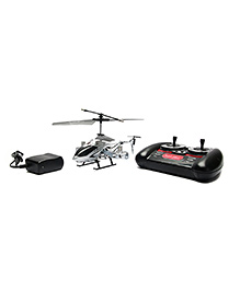 The Flyer's Bay 4 Channel Remote Controlled Avatar Herlicopter Toy - Silver