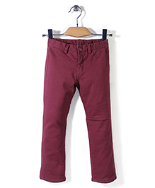 Mothercare Full Length Jeans - Coffee Brown