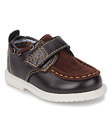 Cute Walk Party Wear Shoes - Coffee Brown