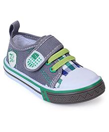 Cute Walk Canvas Shoes - Grey