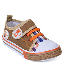 Cute Walk Canvas Shoes - Beige